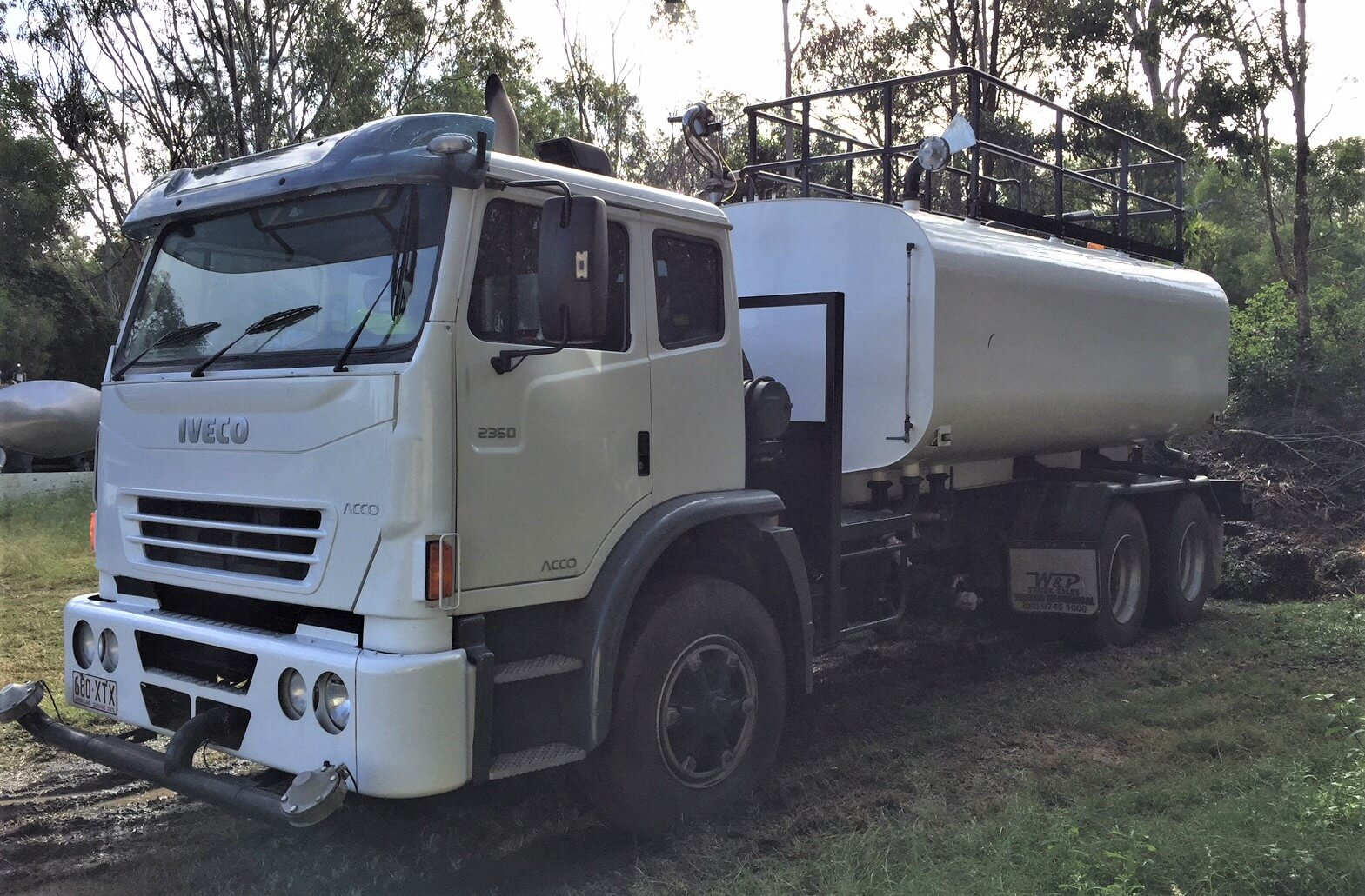 Water It Iveco truck