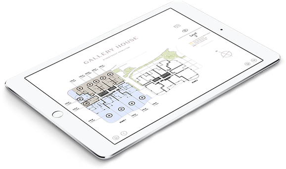 Gallery House sales app