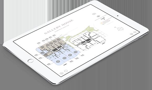 Gallery House sales app