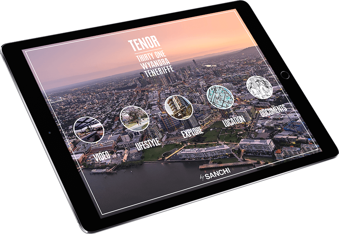 Sanchi Development Tenor iPad