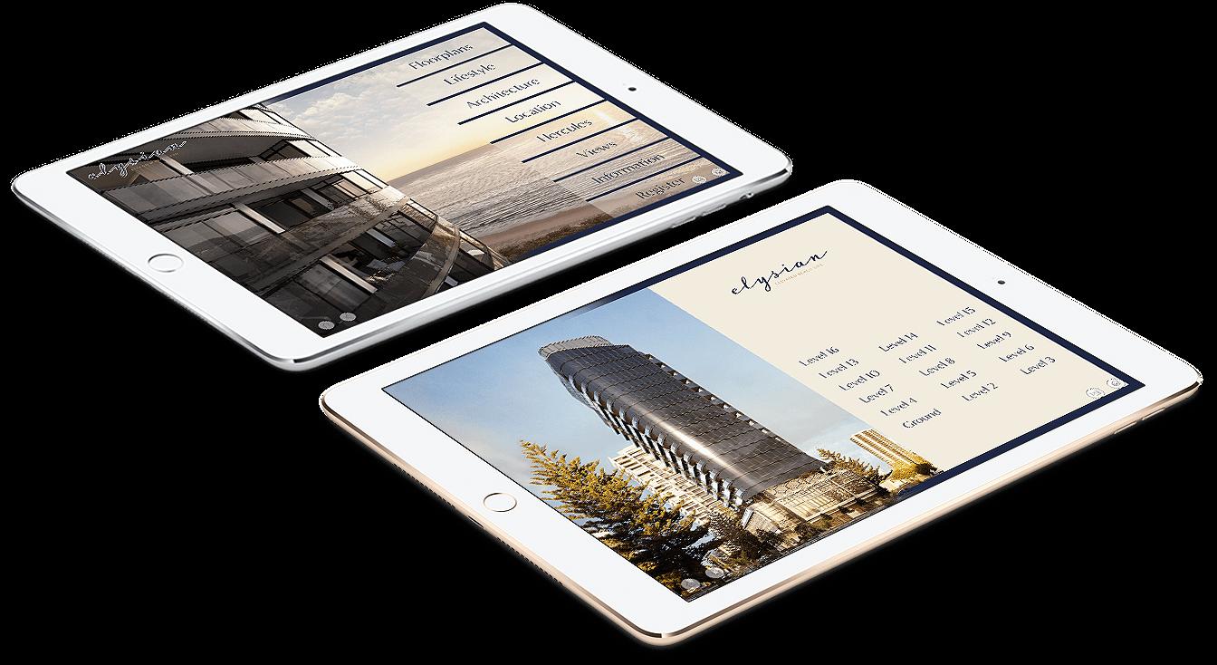 Spyre Group Elysian iPads