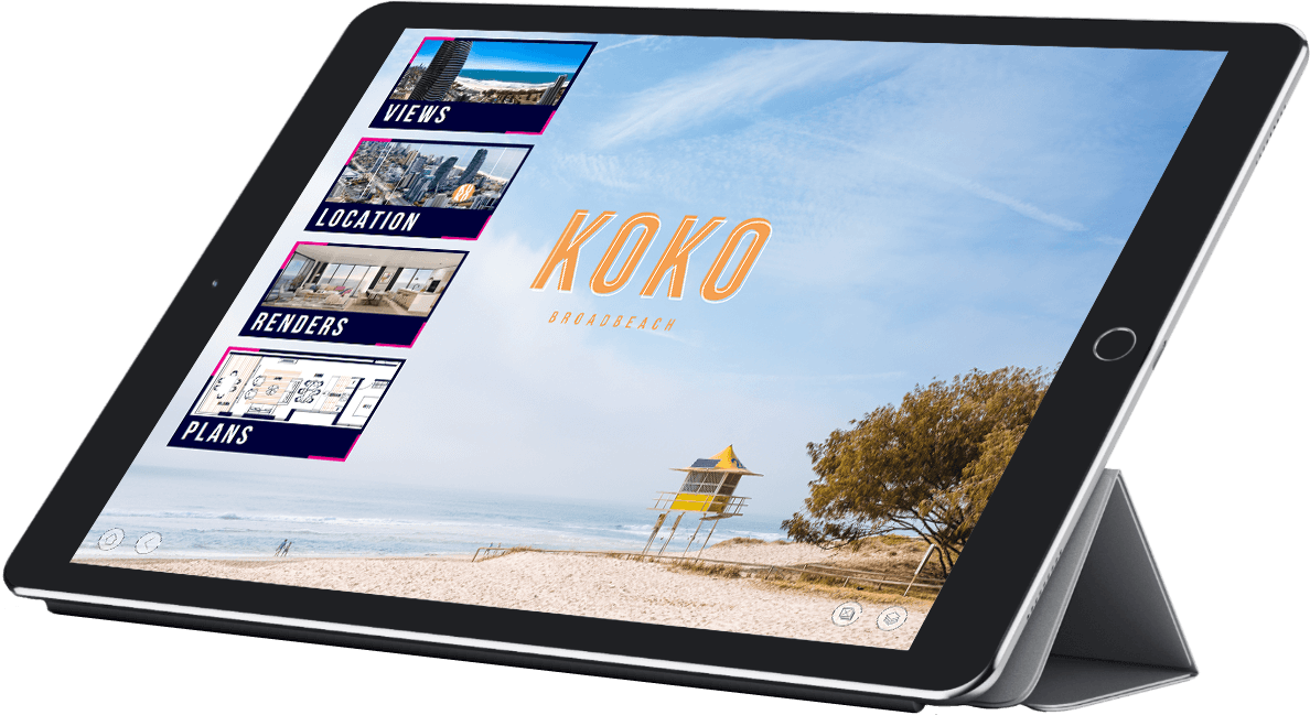 Morris Property Group Koko iPad